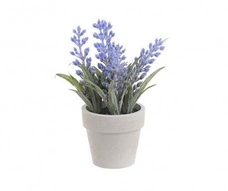 Lavender Művirág virágcserépben