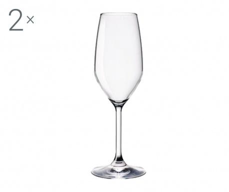 Set 2 čaše za šampanjac Restaurant 200 ml