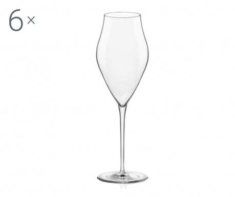 Set 6 čaša za šampanjac Inalto Arte 570 ml