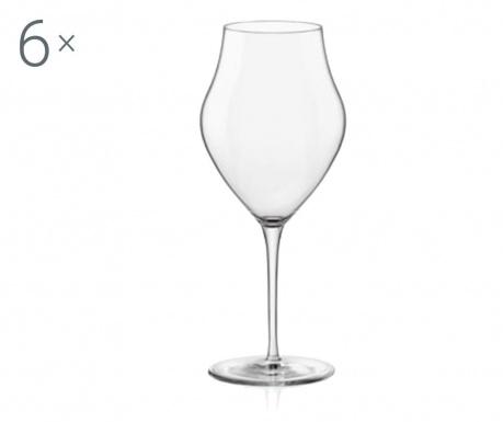 Set 6 čaša za vino Inalto Arte 460 ml