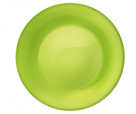 Plitki tanjur New Aqua Green