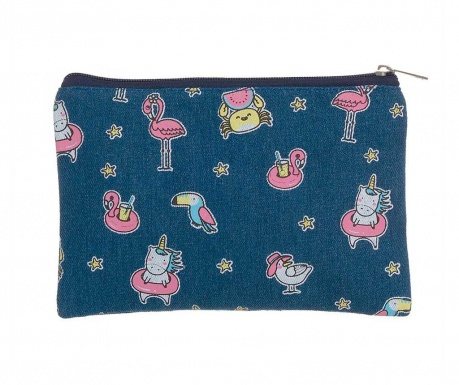 Kozmetička torbica Flamenco Kawaii