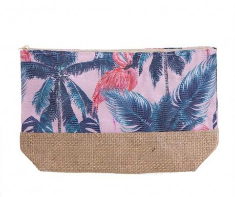 Kozmetička torbica Tropical Flamencos