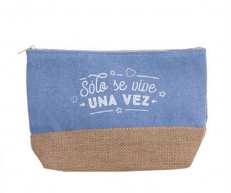 Kozmetička torbica Solo Se Vive Una Vez