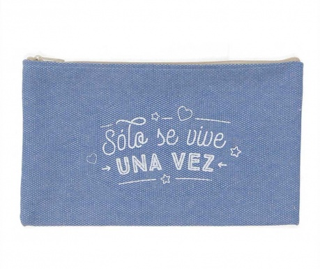 Kozmetička torbica Solo Se Vive Una Vez Wide