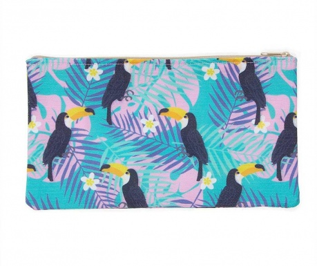 Kozmetička torbica Tropical Tucan Wide