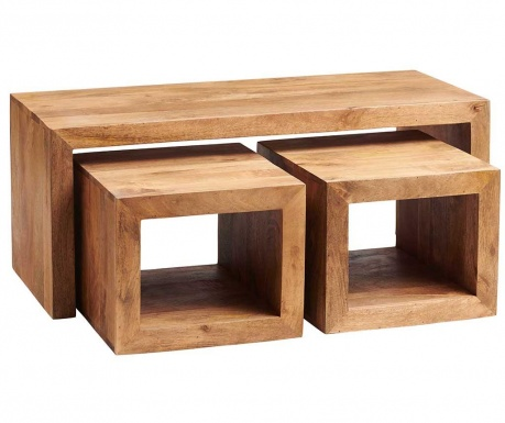Toko Light Cubed 3 db Asztalka
