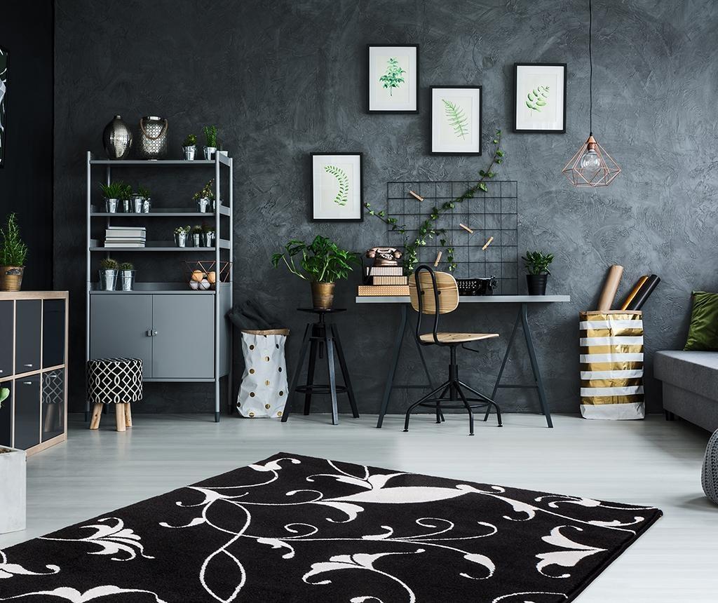 My Black and White Nero Szőnyeg 160x230 cm
