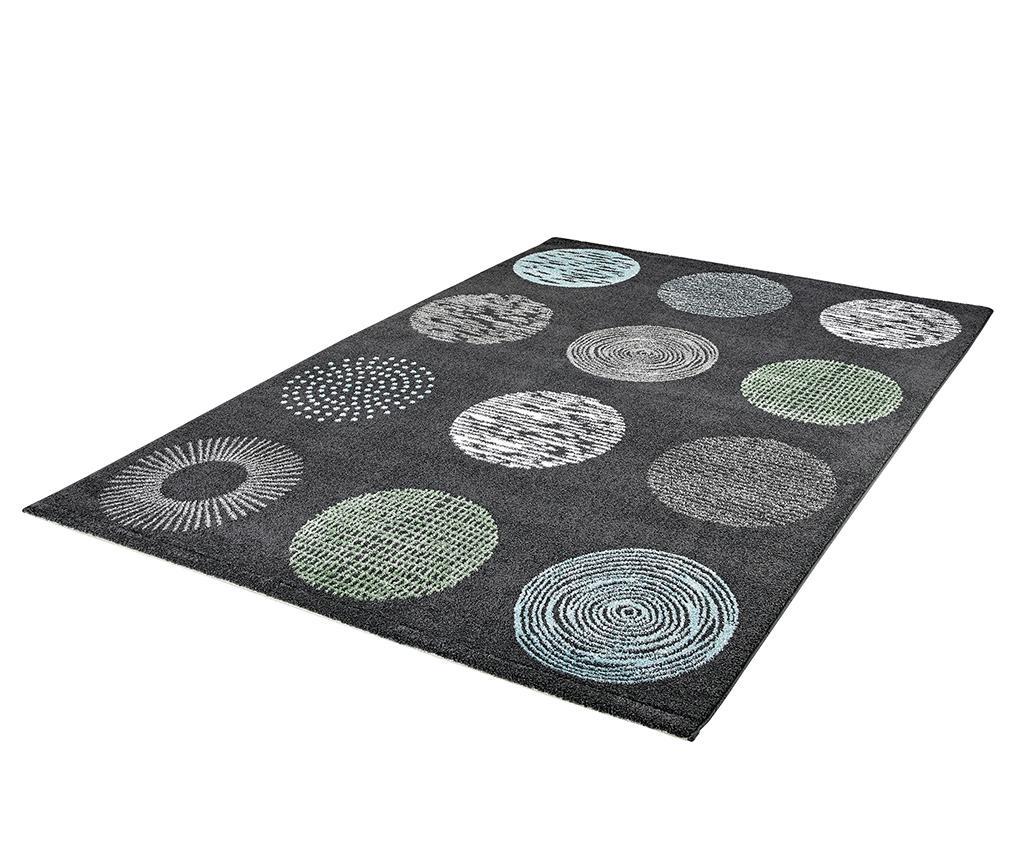 Preproga My Bronx Anthracite Dots 80x150 cm