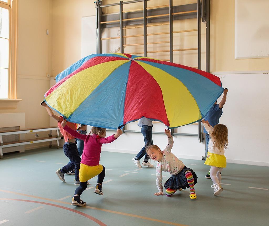 Joc de exterior cu bile Parachute