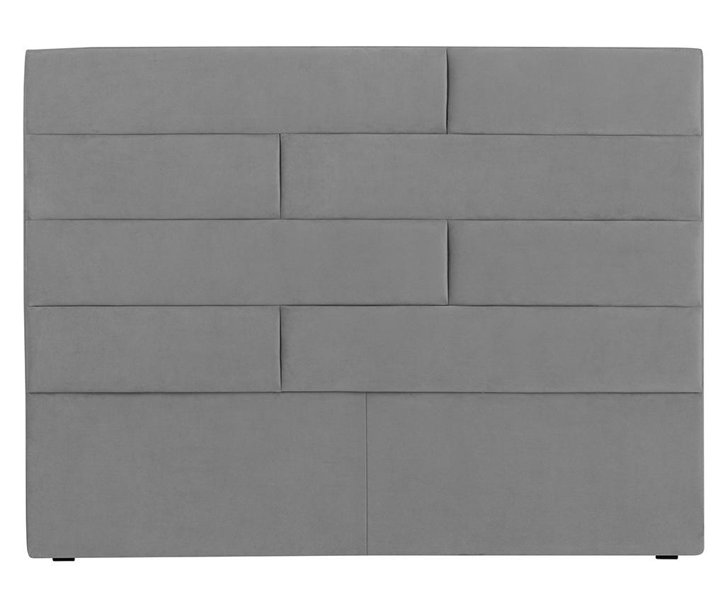 Tablie de pat Bratford Light Grey 160 cm