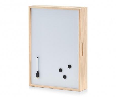 Memo Kulcstartó szekrényke írótáblával