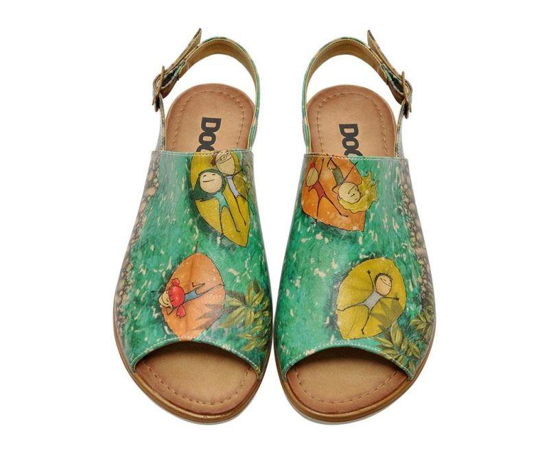 Sandale dama Hanging On Leaves 36