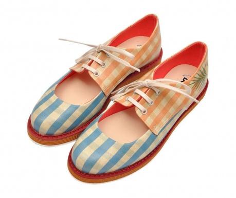 Γυναικεία παπούτσια Plaid and Floral