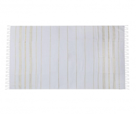 Plážový uterák Fouta Sultan Gold 100x180 cm