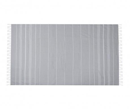 Плажна кърпа Sultan Grey 100x180 см