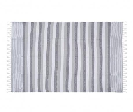 Plážový uterák Pamukkale Grey 100x180 cm