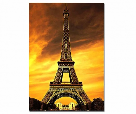 Картина Paris Yellow Sky 70x100 см
