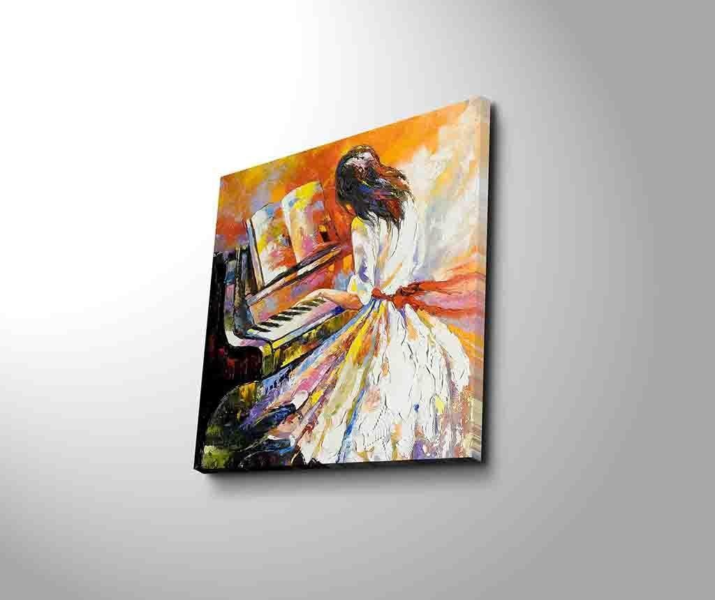 Obraz Piano 45x45 cm