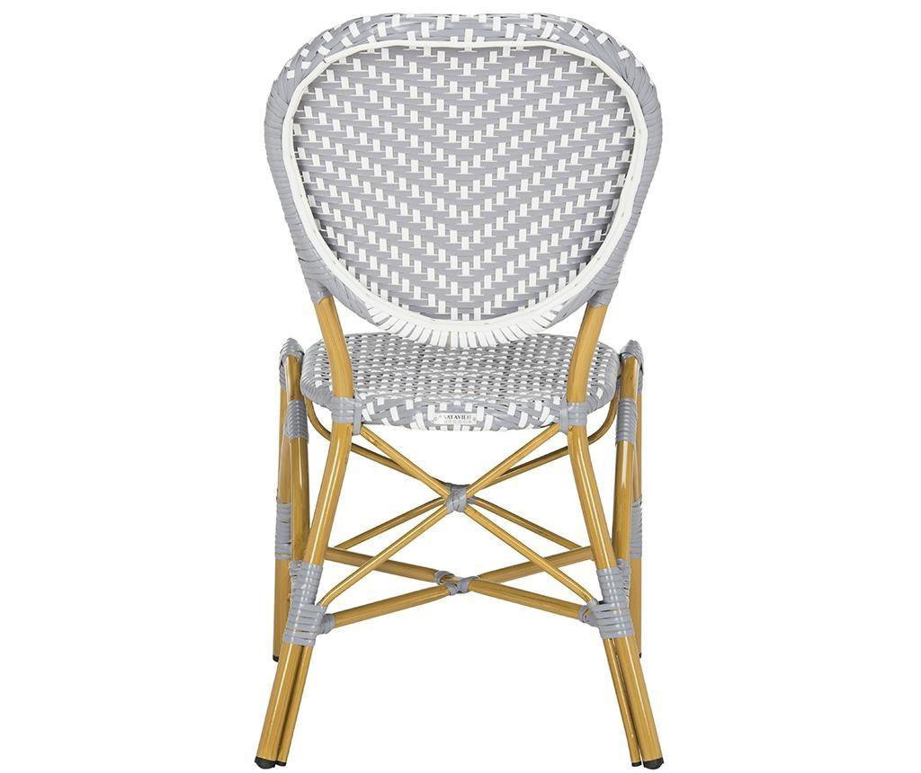 Sada 2 židlí Madelein Grey