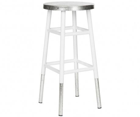 Krzesło barowe Mirabelle Tall White