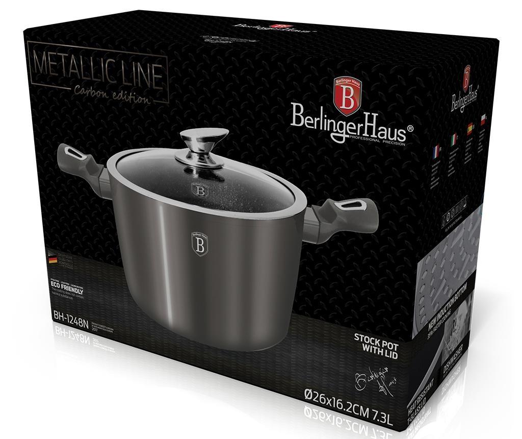 Posuda za kuhanje s poklopcem Royal Metallic 7.3 L