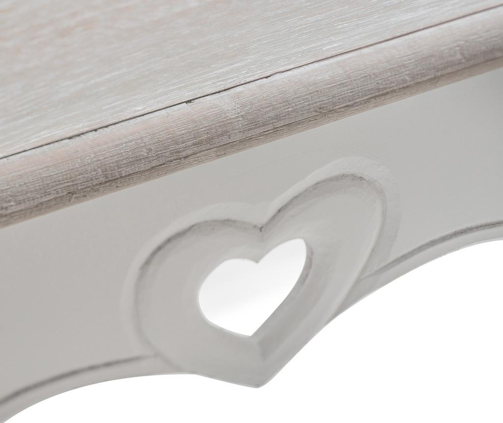 Masuta de cafea Heart Detail Corner