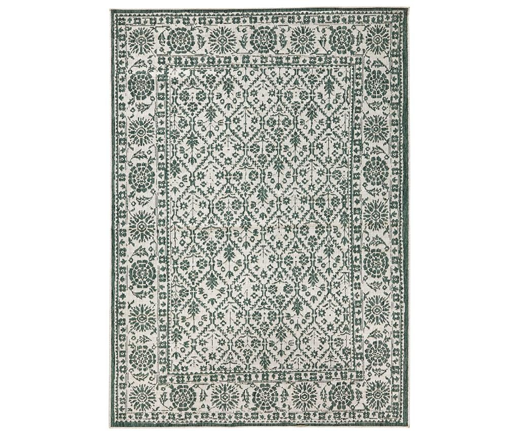 Twin Curacao Green Cream Megfordítható szőnyeg 80x150 cm