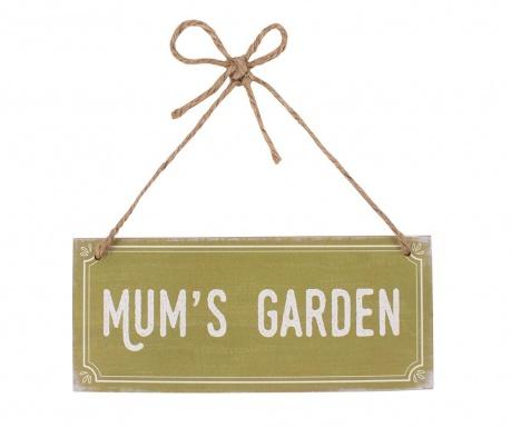 Mum's Garden Fali dekoráció