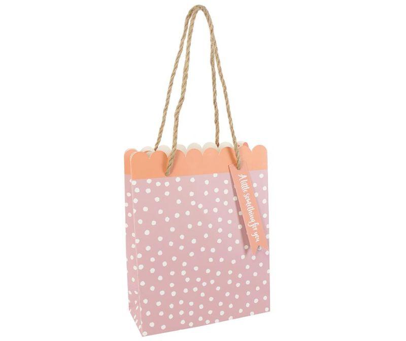 Darilna vrečka Scallop Pink