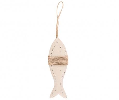Decoratiune suspendabila Fishy Fish Tall Cream