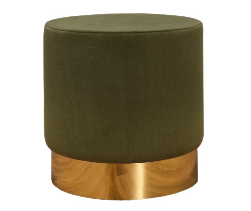 Taboret Barok Green