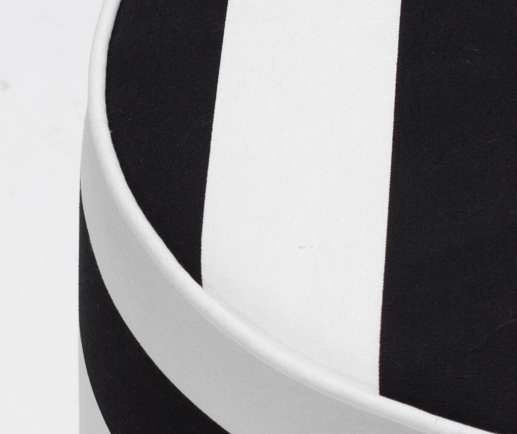 Taburet Findik Black White