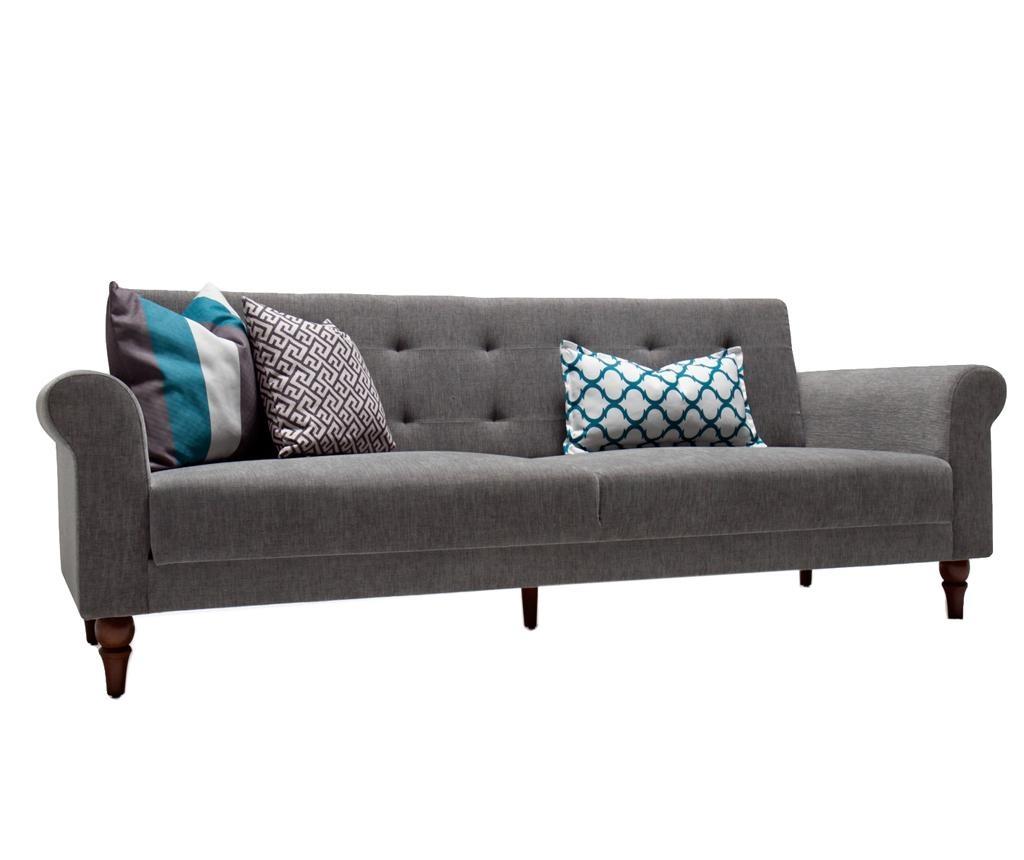Kauč trosjed na razvlačenje Madona Grey