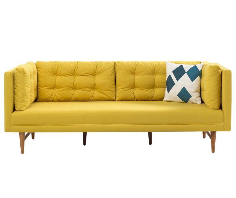 Canapea 3 locuri Point Yellow