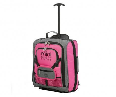 Dětský cestovní kufr na kolečkách Karen Pink 30 L