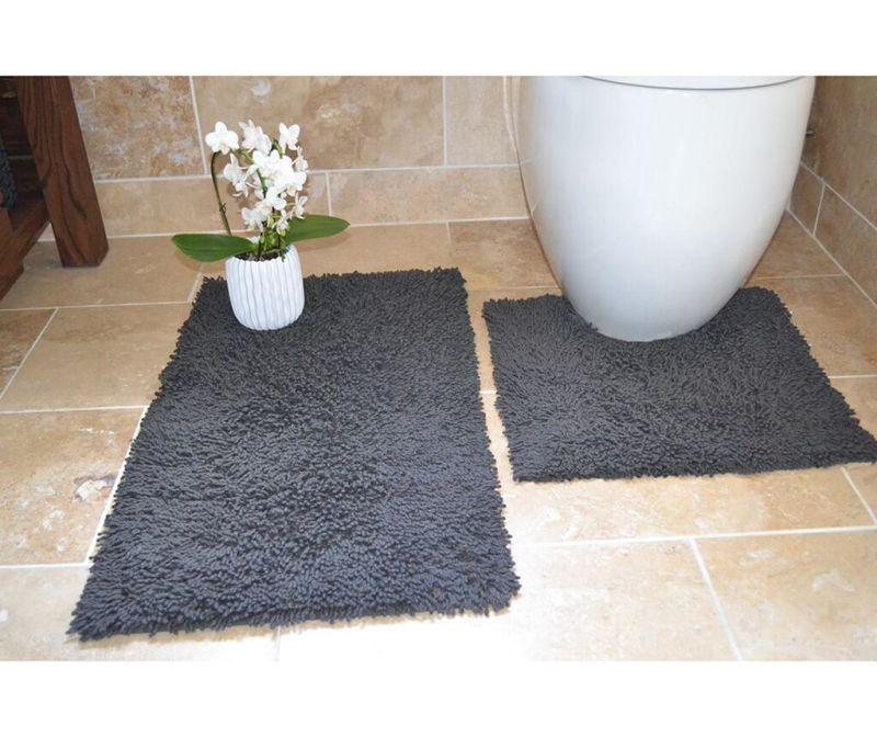 Set 2 kopalniških preprog Ivo Grey