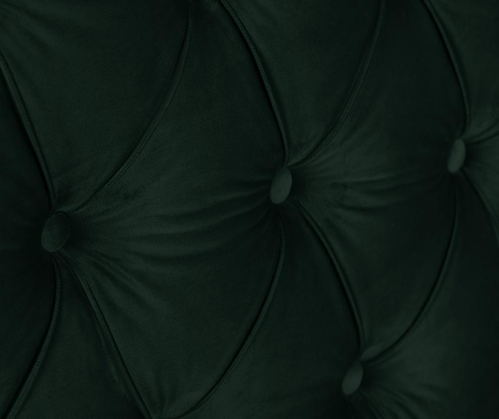 Tablie de pat Cloves Bottle Green 200 cm