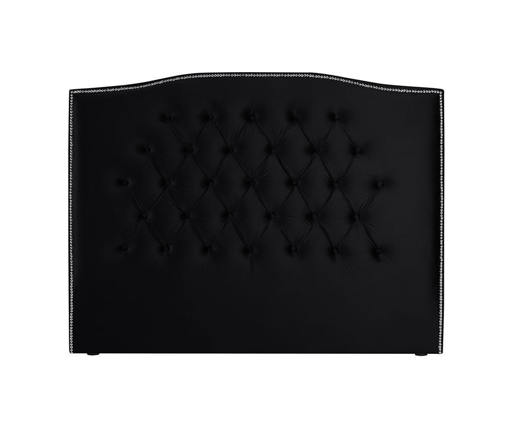 Tablie de pat Cloves Deep Black 200 cm
