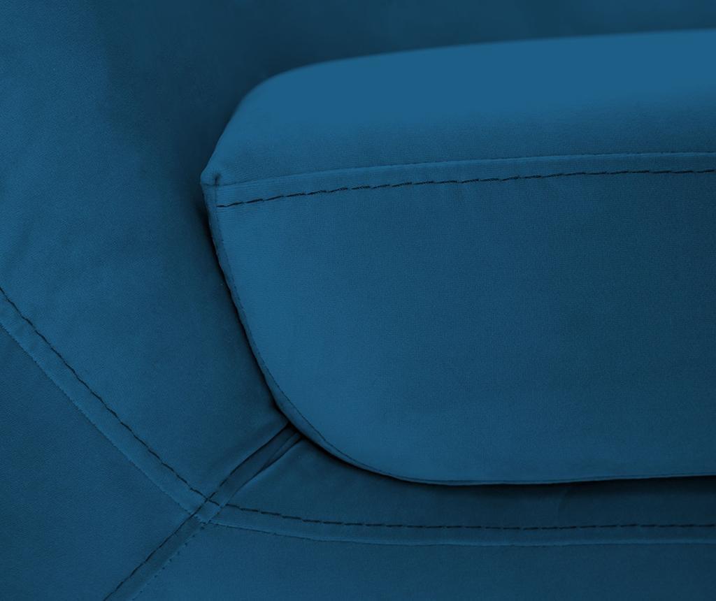 Amelie Blue Black Kétszemélyes kanapé