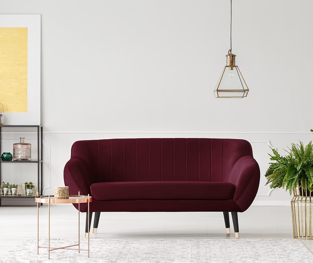 Benito Vine Black Kétszemélyes kanapé