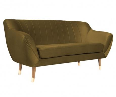 Benito Gold Natural Kétszemélyes kanapé