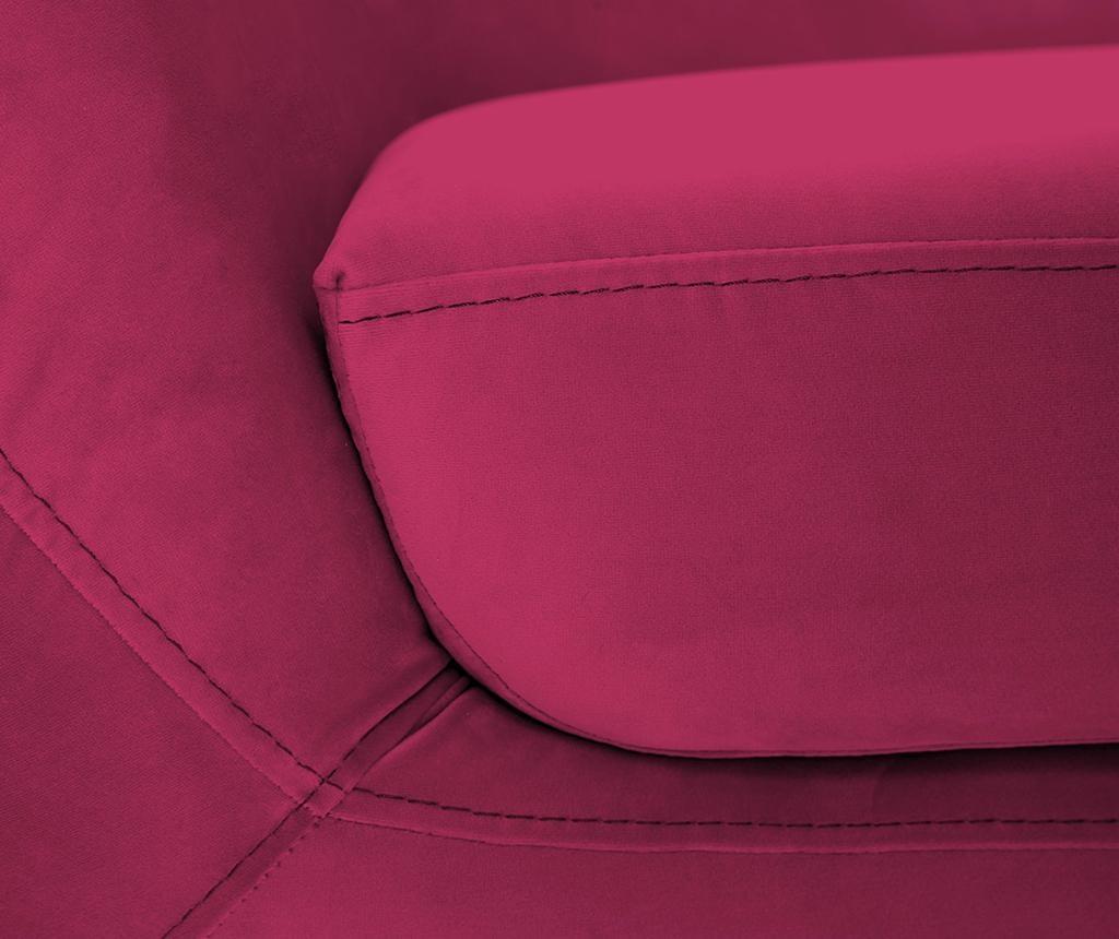 Amelie Pink Natural Háromszemélyes Kanapé