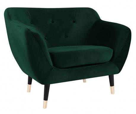 Amelie Bottle Green Black Fotel