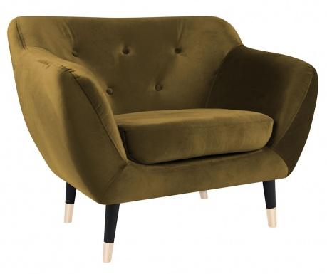 Amelie Gold Black Fotel