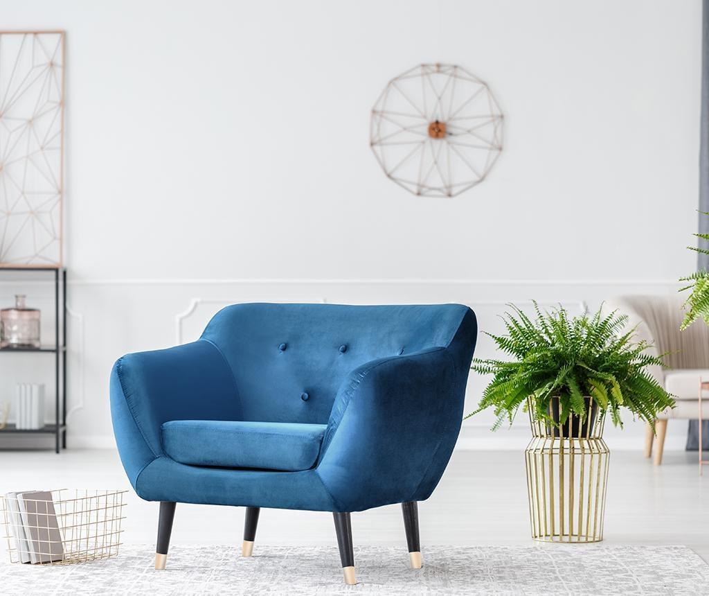 Fotelja Amelie Blue Black