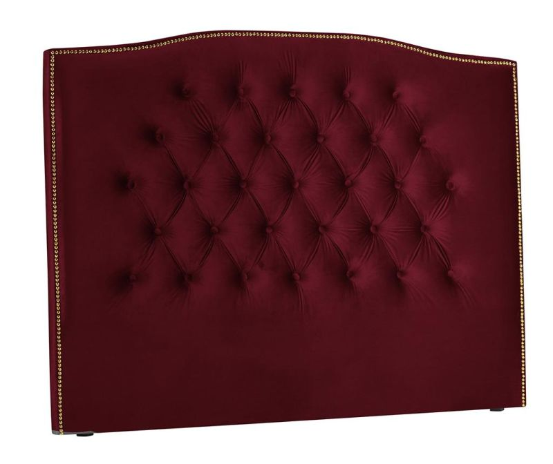 Tablie de pat Daisy Red Wine 200 cm