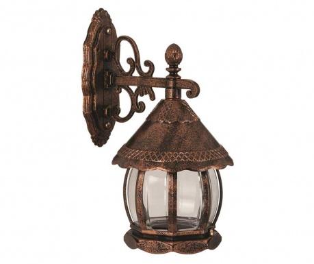 Zunanja stenska svetilka Verna Lower Brown