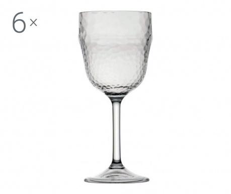 Комплект 6 чаши за вино Ice 410 мл