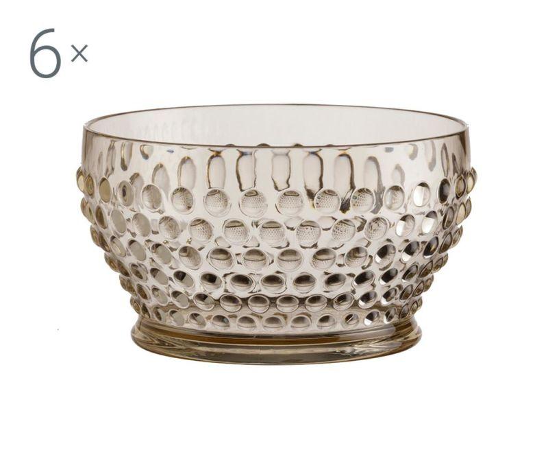 Lux Gold 6 db Mély tál 380 ml